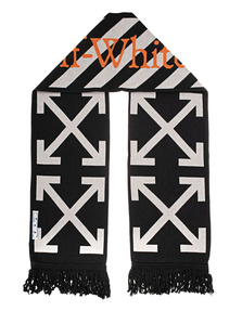 OFF-WHITE C/O VIRGIL ABLOH TM Scarf Black White