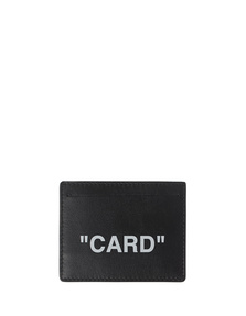 OFF-WHITE C/O VIRGIL ABLOH Card Leather Black