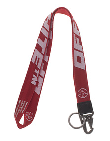 OFF-WHITE C/O VIRGIL ABLOH Necklace Key Ring Red