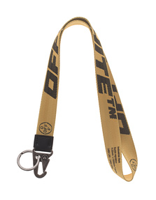 OFF-WHITE C/O VIRGIL ABLOH Necklace Key Ring Yellow