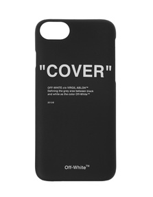 OFF-WHITE C/O VIRGIL ABLOH iPhone Cover 8 Quote Black