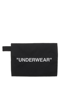 "OFF-WHITE C/O VIRGIL ABLOH Pouch ""UNDERWEAR"" Black"