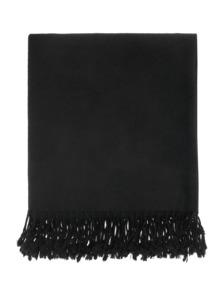 ALBEROTANZA Square Poncho Black
