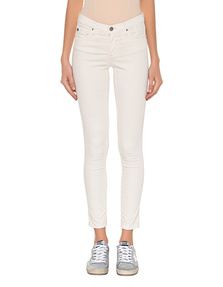 AG Jeans The Legging Ankle Velvet Off-White