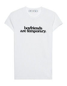 OFF-WHITE C/O VIRGIL ABLOH Boyfriends are temporary White