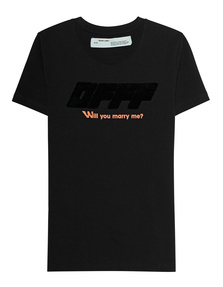 OFF-WHITE C/O VIRGIL ABLOH Will You Marry Me Black