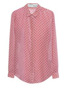 OFF-WHITE C/O VIRGIL ABLOH Chiffon Transparent Pink