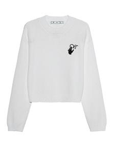 OFF-WHITE C/O VIRGIL ABLOH New Logo Strick White