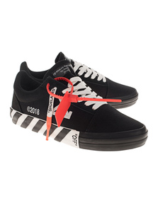 OFF-WHITE C/O VIRGIL ABLOH Vulcanised Striped Black