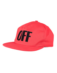 OFF-WHITE C/O VIRGIL ABLOH Big Off Red