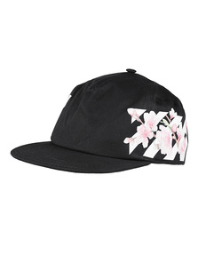 OFF-WHITE C/O VIRGIL ABLOH Diag Cherry Flowers Black