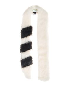 OFF-WHITE C/O VIRGIL ABLOH Fake Fur White