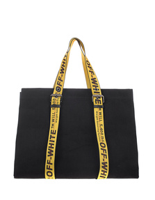 OFF-WHITE C/O VIRGIL ABLOH Canvas Tote Black