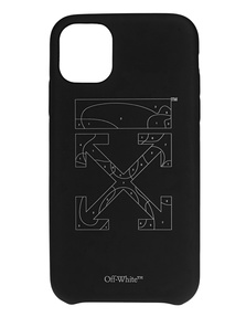 OFF-WHITE C/O VIRGIL ABLOH Puzzle Iphone 11 Black