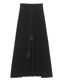 Plein Sud Long Pleat Black