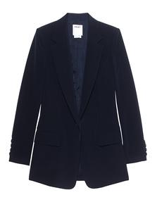 DKNY Notch Collar Dark Blue
