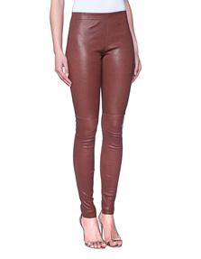 Plein Sud Legging Leather Cognac