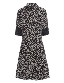 DKNY Petite Giraffe Black Beige