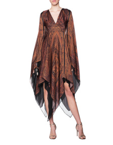 Plein Sud Silk Hippie Brown