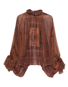 Plein Sud Paisley Retro Brown