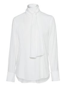 DKNY Neck Bow White