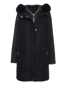 PEUTEREY Bourdin Fur Black