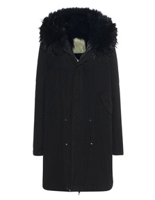 MR & MRS ITALY Parka Patch Fox Black