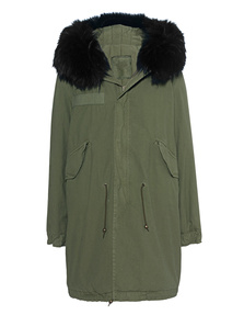 MR & MRS ITALY Parka Quilt Army Black