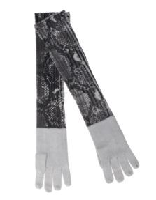 ALBEROTANZA Plain Sky Gloves Snake