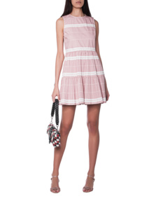 RED VALENTINO Pleated Details Rose