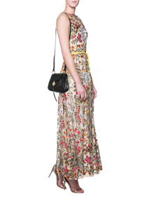 RED VALENTINO Flower Embroidery Waistband Multicolor