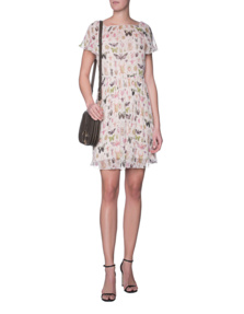 RED VALENTINO Butterfly Multicolor