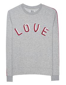 ZOE KARSSEN Love Embroidery Grey