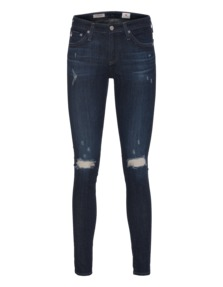 AG Jeans The Legging Ankle 2 Years Night Dive Mend