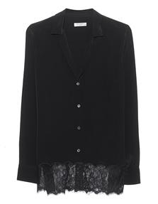 EQUIPMENT Adalyn True Black Lace