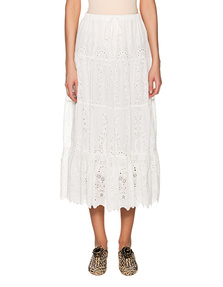 JADICTED Summer Embroidery White