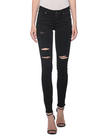 PAIGE Verdugo Ultra Skinny Black Shadow
