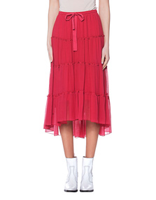 SEE BY CHLOÉ Light Flowing Raspberry Sorbet Red