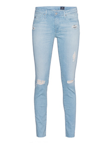 AG Jeans The Legging Ankle Destroy Light Bue