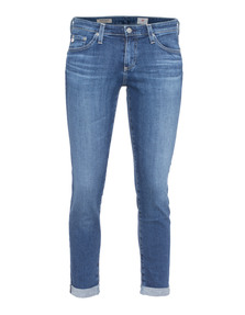 AG Jeans The Stilt Roll-Up Solid