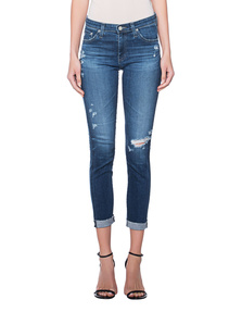 AG Jeans Prima Roll-Up Blue