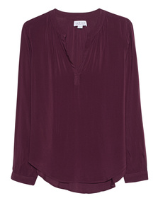 VELVET BY GRAHAM & SPENCER Tunic Purple