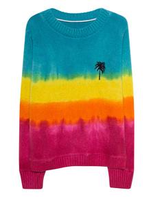 The Elder Statesman Dyed Palmtree Multicolor