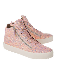 GIUSEPPE ZANOTTI May London Matt Glitt Barbie Rose