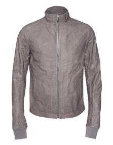 RICK OWENS Calf Leather Basic Grey