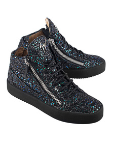 GIUSEPPE ZANOTTI My London Blytter Multysky Black