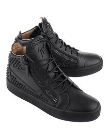 GIUSEPPE ZANOTTI May London Kriss Studs Blac