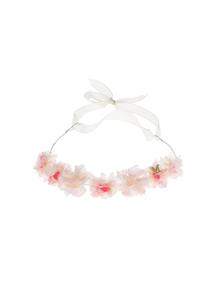 Maison Michel Caroline Floral Pink White