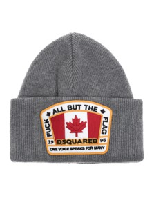 DSQUARED2 Flag Patch Heather Grey