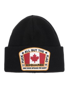 DSQUARED2 Flag Patch Black